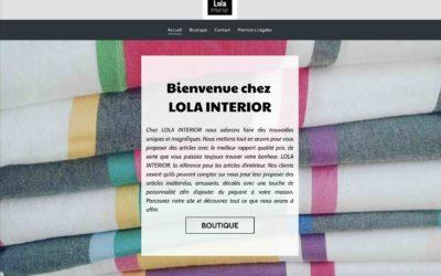 LOLA INTERIOR: Boutique en ligne pour accessoires de décoration