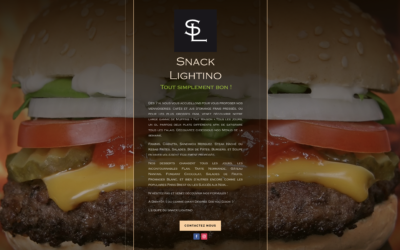 SNACK LIGHTINO – Click and Collect pour restaurant